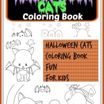 Halloween Cats Colouring Book – 9 pages