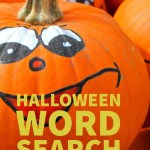 Fun Halloween Word Search Printable