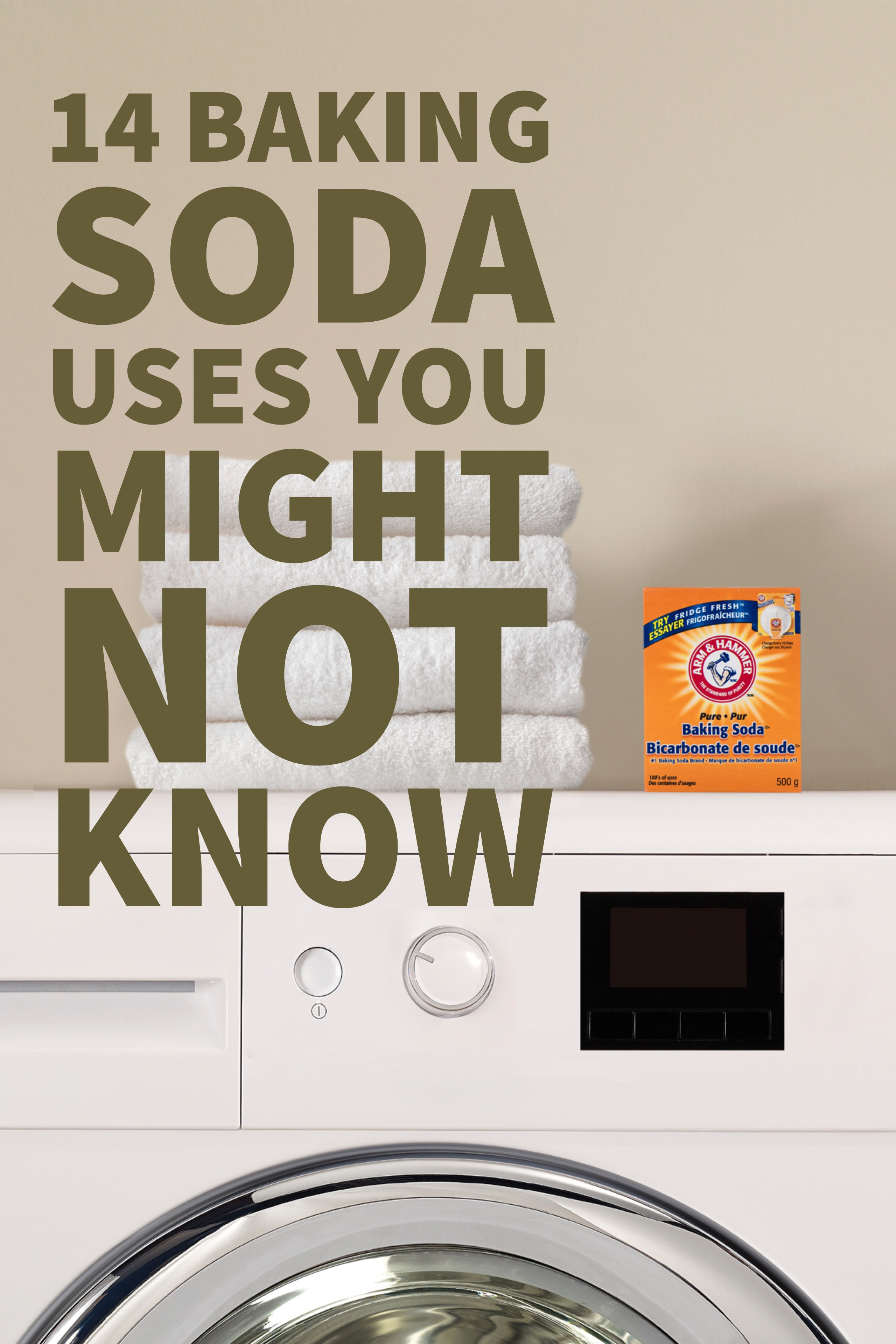 14 Arm Amp Hammer Baking Soda Uses That Are Outside The Box