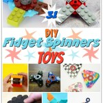 31 DIY EASY Fidget Spinners