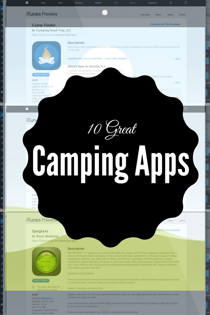 Did You Know That There Are Camping Apps Out There To Make Your Camping Trick Run Smoother I Know Were Supposed To Be Unplugged Here But These Apps Are