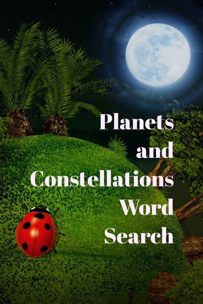 Planets and Constellations Word Search