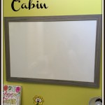 Caribou Cabin – A New Line of Framed Whiteboards #Giveaways
