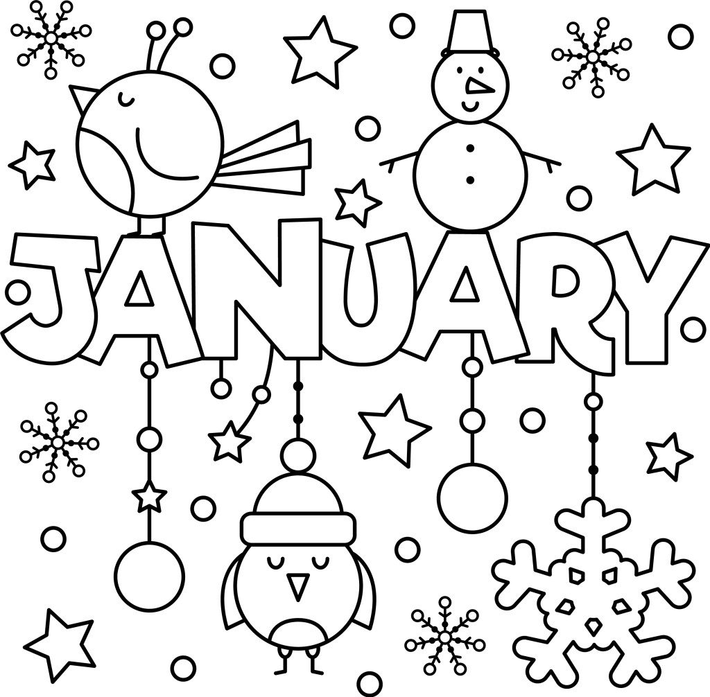 january_colouring_page