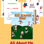 Sports All About Me Book for Young Child