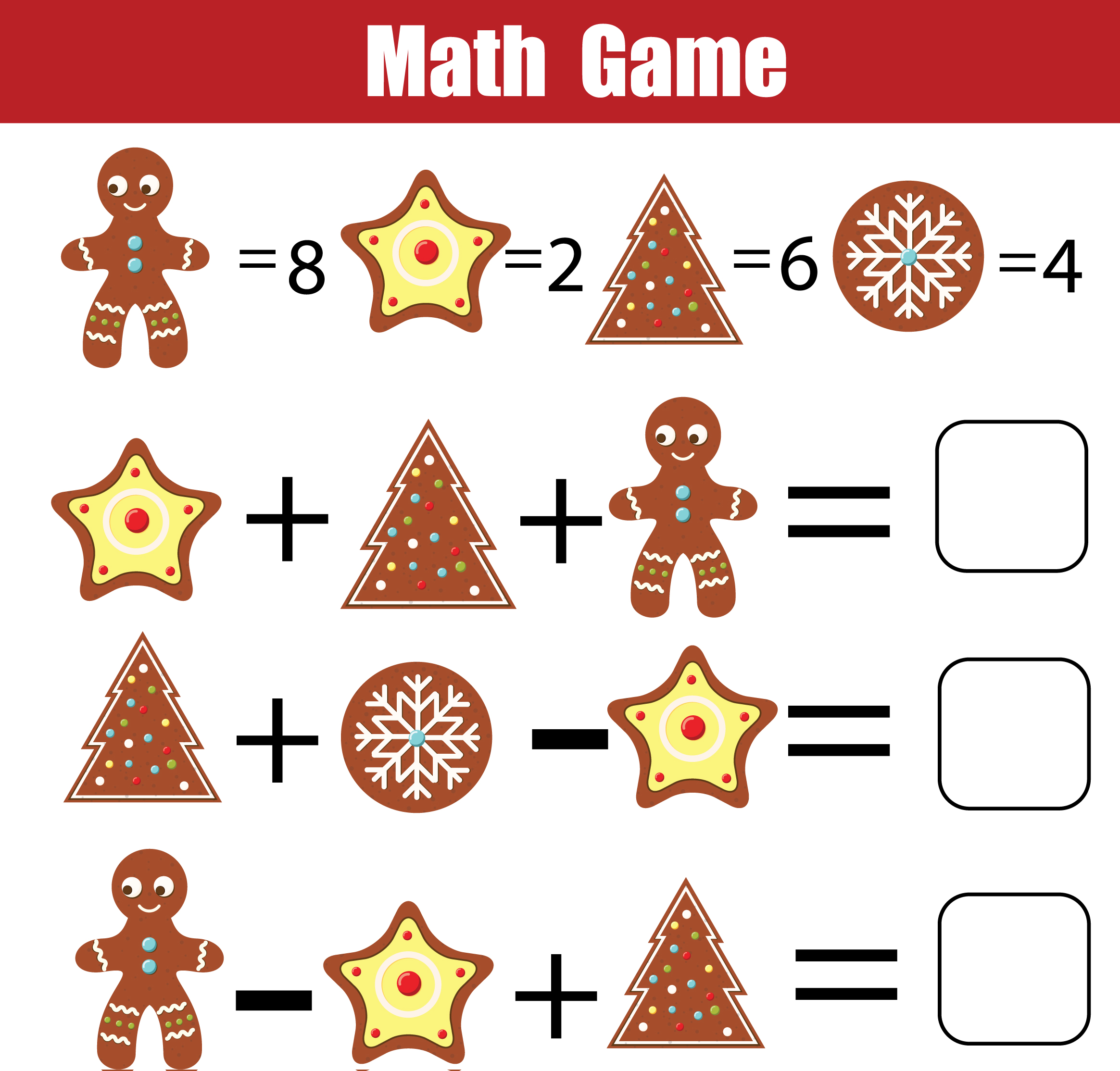 It is a photo of 24 Math Game Printable with class 8th grade