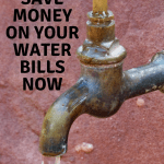 How to Save on Water Bills Now