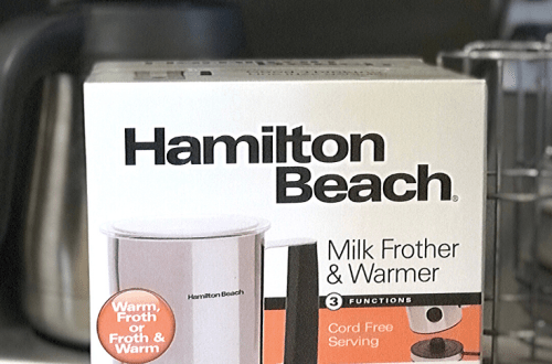 kitchen gifts milk frother
