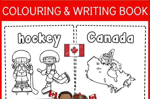 canada colouring book