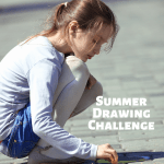 My Summer Drawing Challenge for Kids