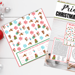 Fun Printable Christmas Activities to Do Now