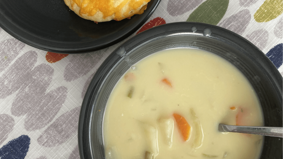 chicken vegetable chowder