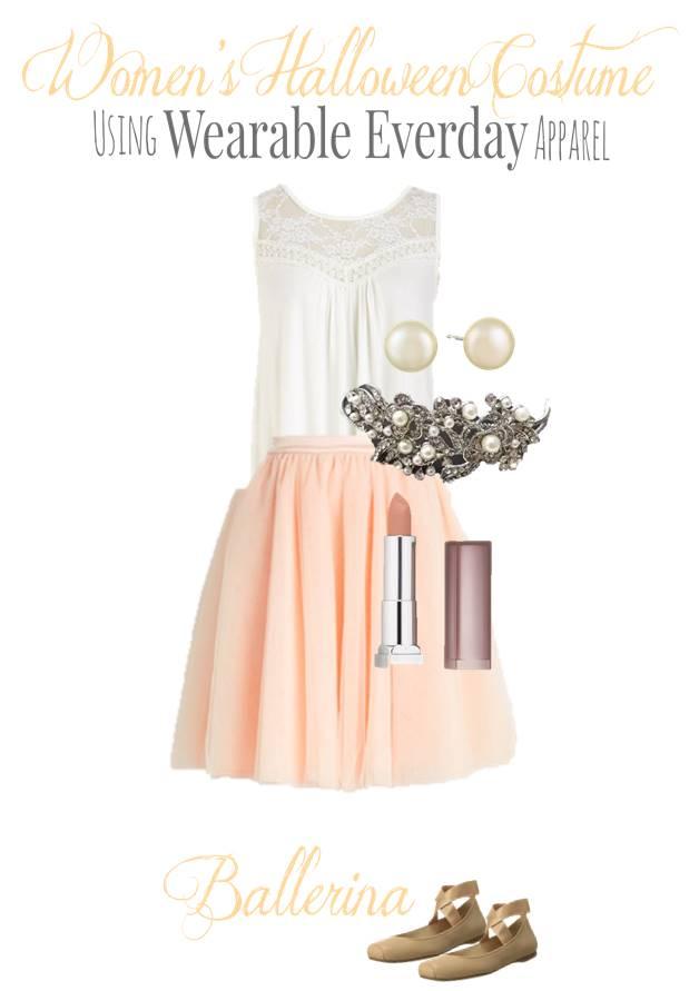 DIY Ballerina Costume Using Regular Clothes You Can Wear