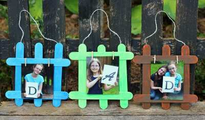 DIY Father's Day Photo Gift with Mess Free Paints