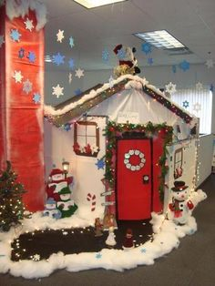 Holiday Office Decorations 101 Thrifty Blog