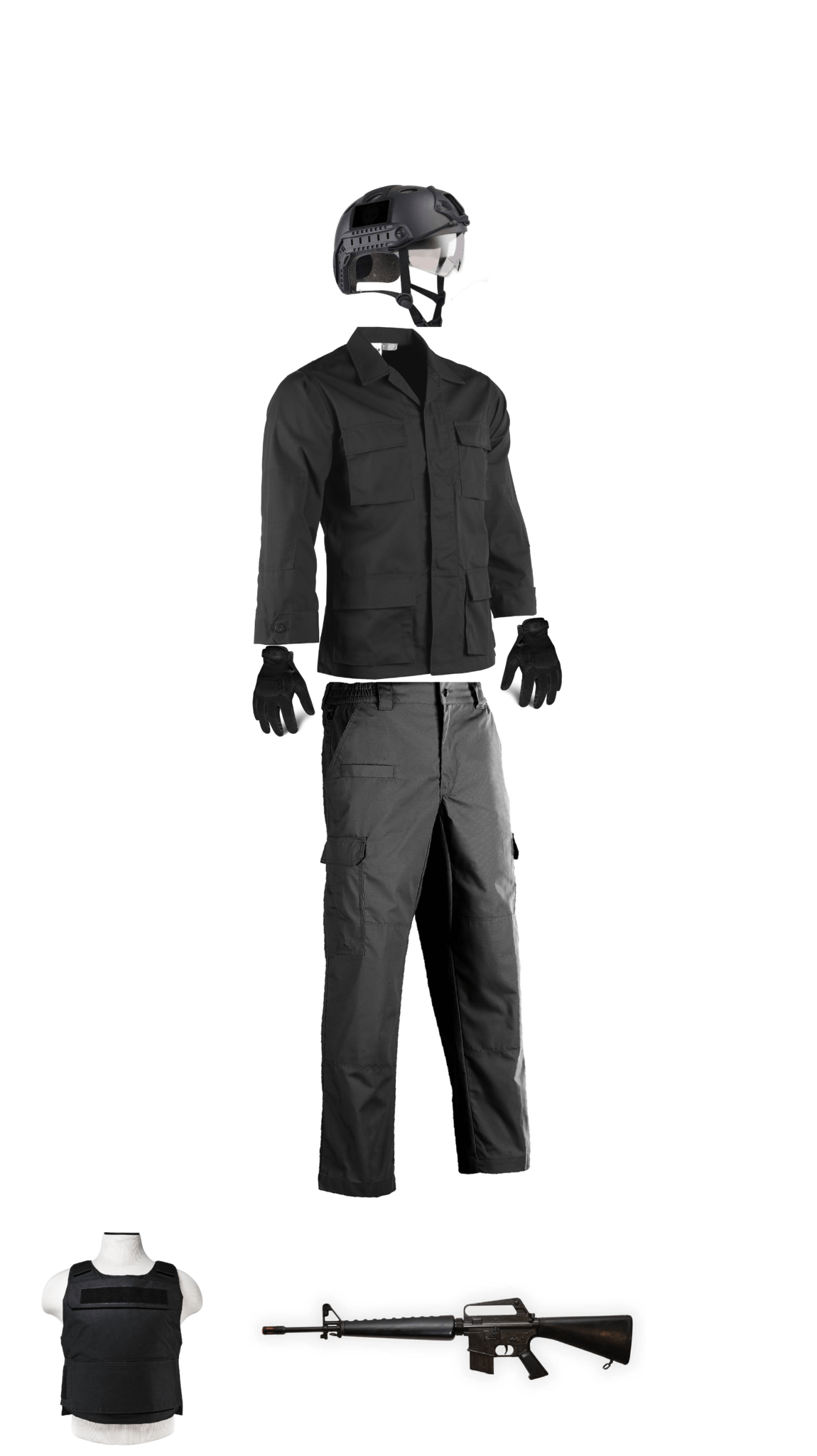 SWAT Costume Rental In Los Angeles
