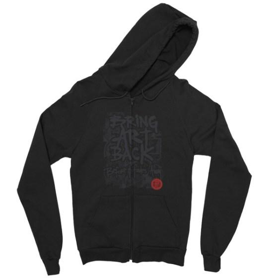 Fade to Black Hoodie