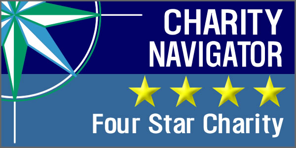 Thrive DC is one of Charity Navigator's 4 Star Charities