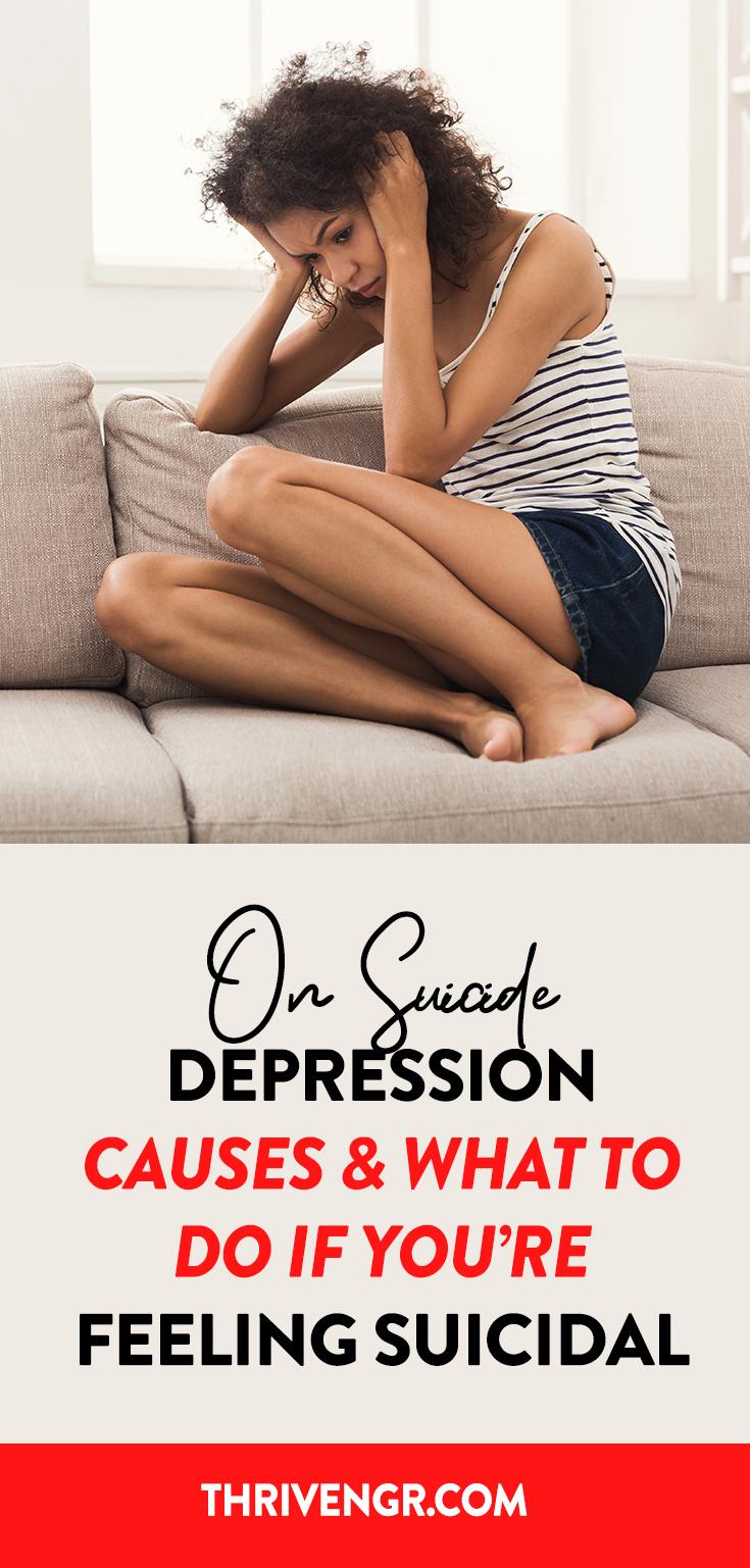 Suicide depression remedies