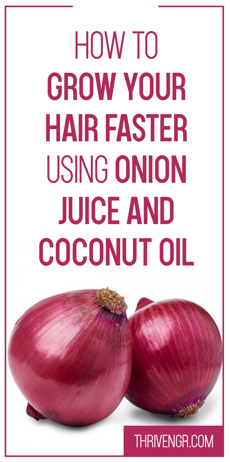 Onion & Coconut Oil Mixture