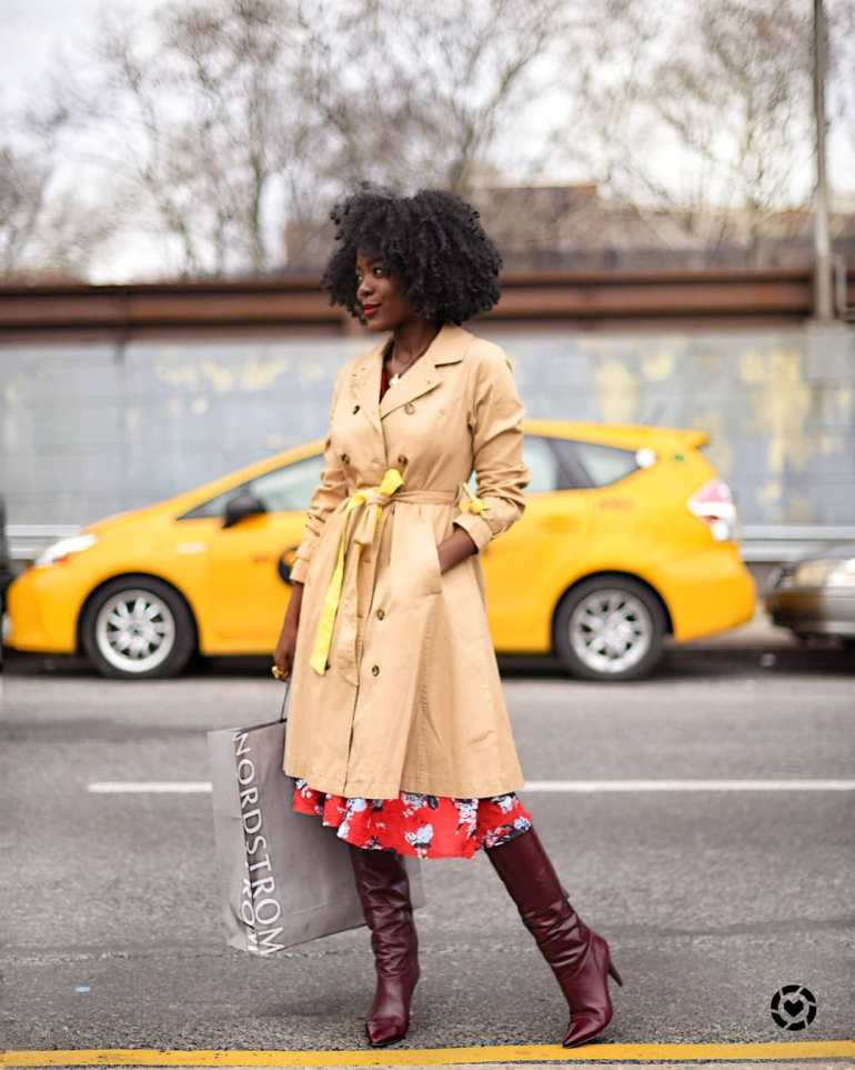 fashionista with african roots
