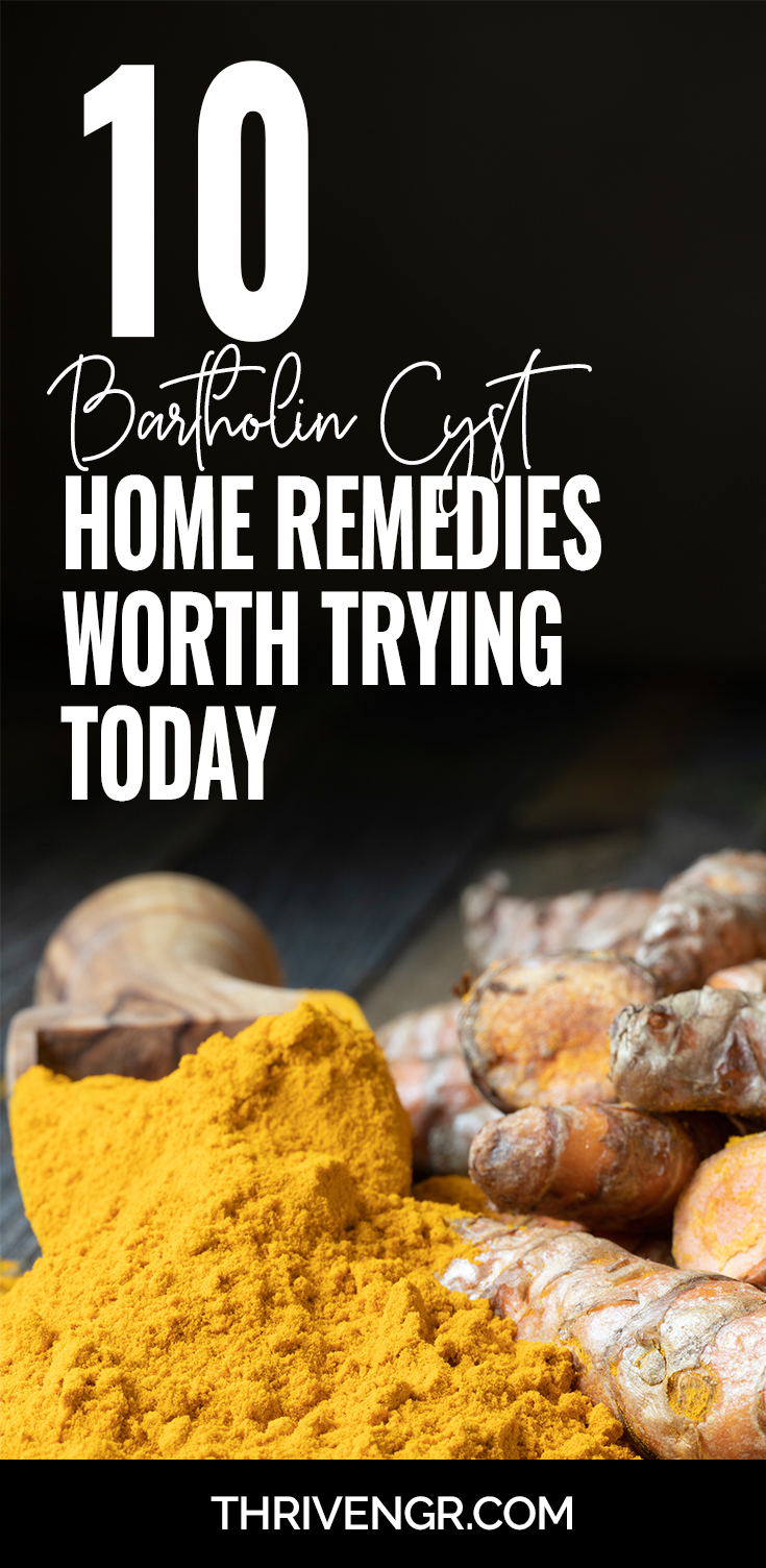Bartholin cyst home remedies to try