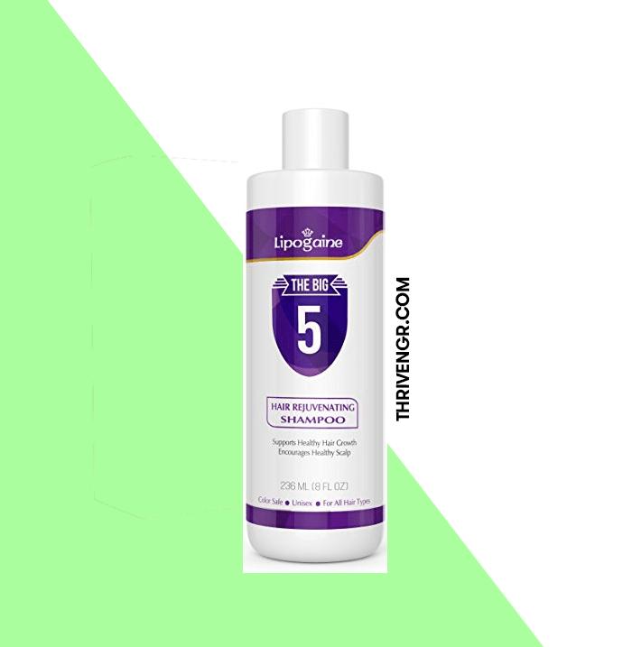 Lipogaine hair loss/growth stimulating shampoo