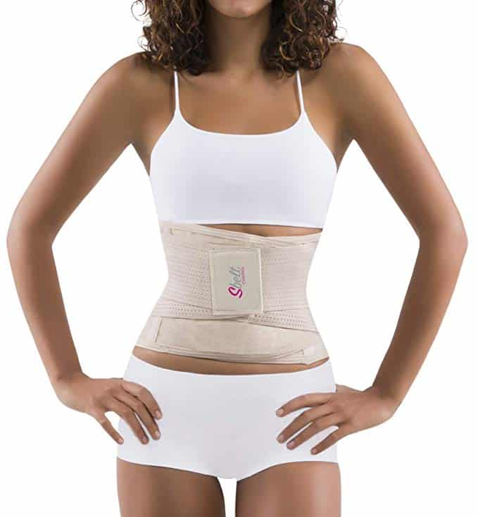 Sbelt Thermal Waist Trainer Slimming Belt