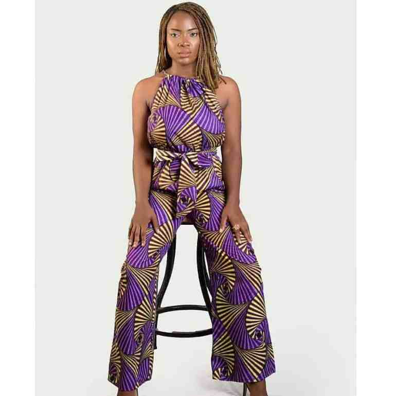 latest ankara jumpsuit