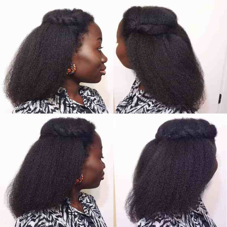 How to style natural hair