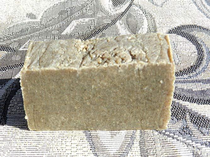 Solid Shampoo Bar with Rosemary Tea Tree
