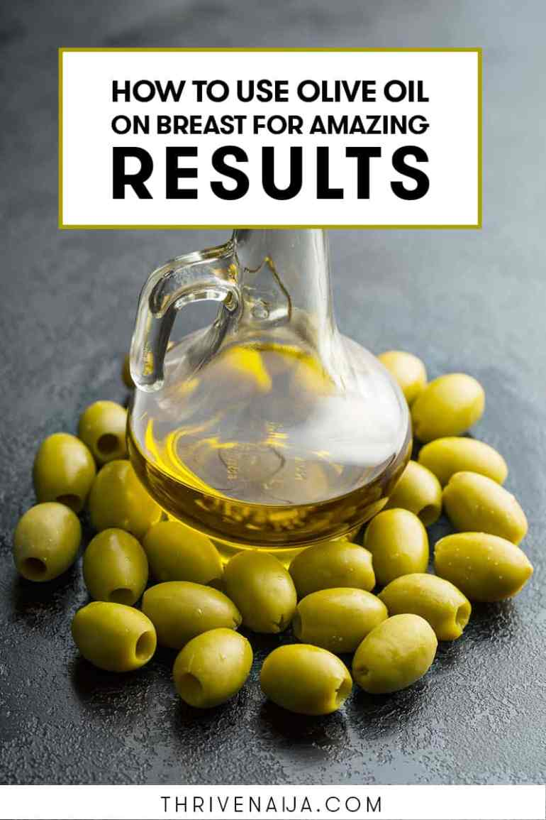 olive oil and sagging breast