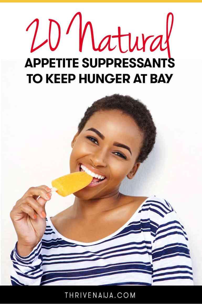 natural appetite suppresants