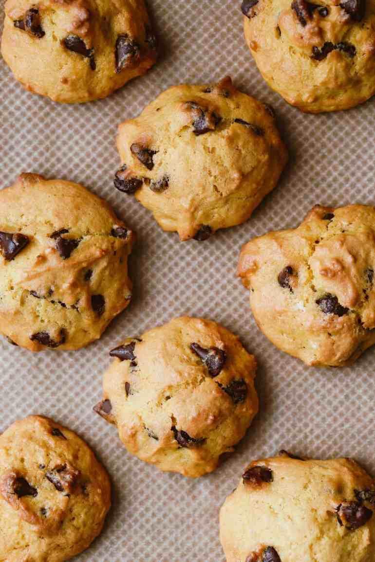 Homemade pumpkin cookies