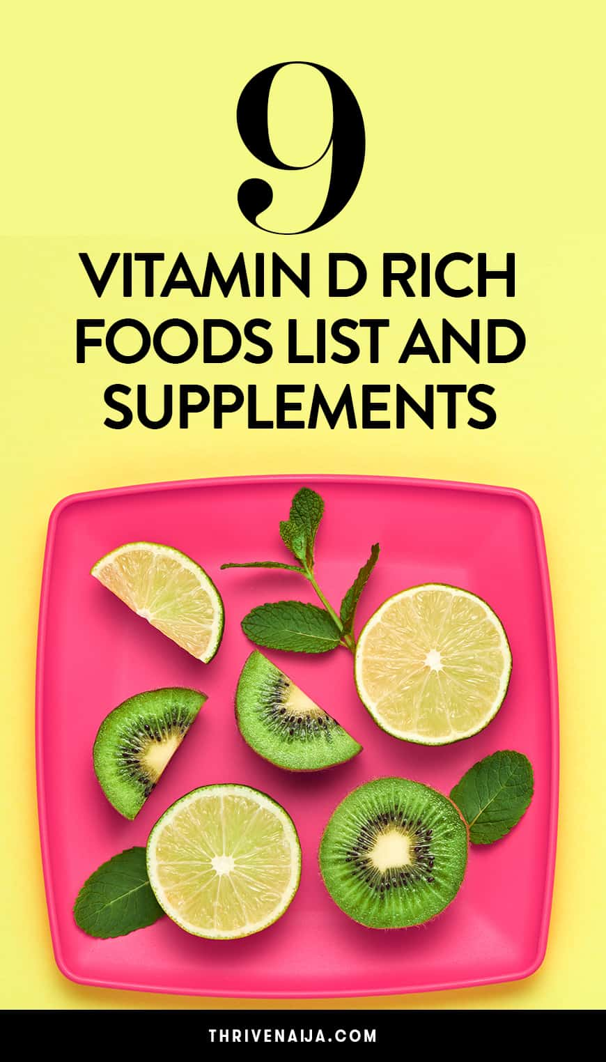 Vitamin D For Vegans: 9 Vitamin D Rich Foods List And ...