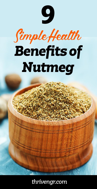 Amazing health benefits of eating nutmeg