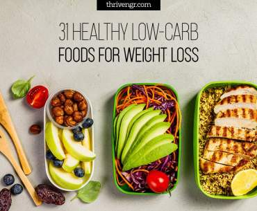 31 Healthy Low-Carb Foods, Vegetables, Fruits For Weight Loss