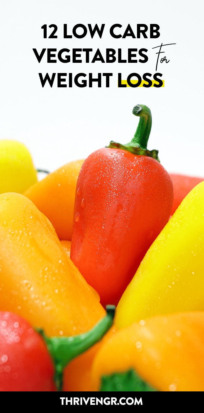 Healthy low calorie vegetables for weight loss