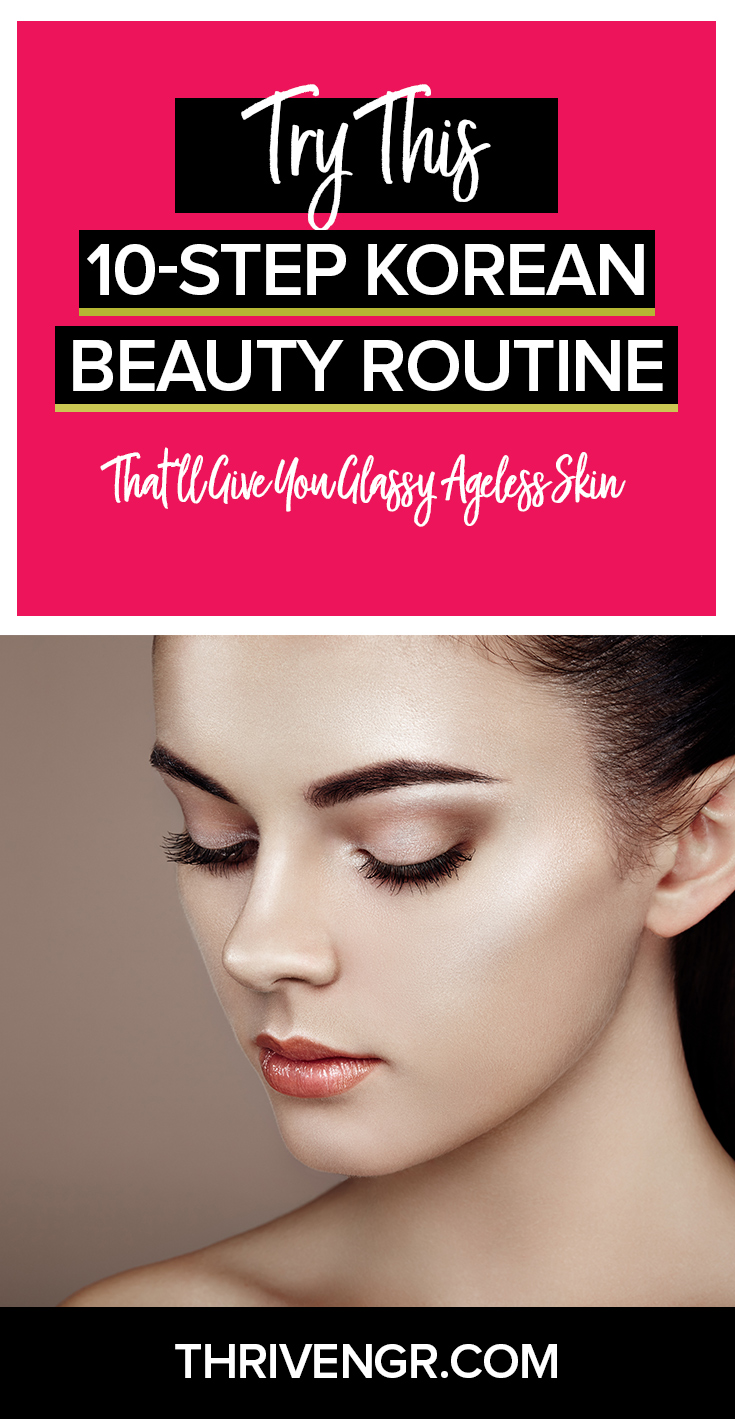 korean skin care routine for ageless skin