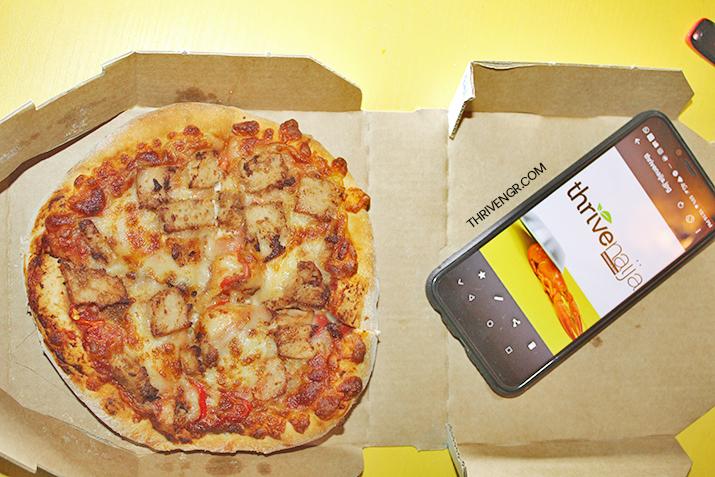 dominos smallie pizza