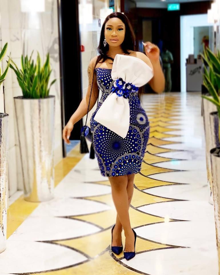 short ankara gown styles ideas