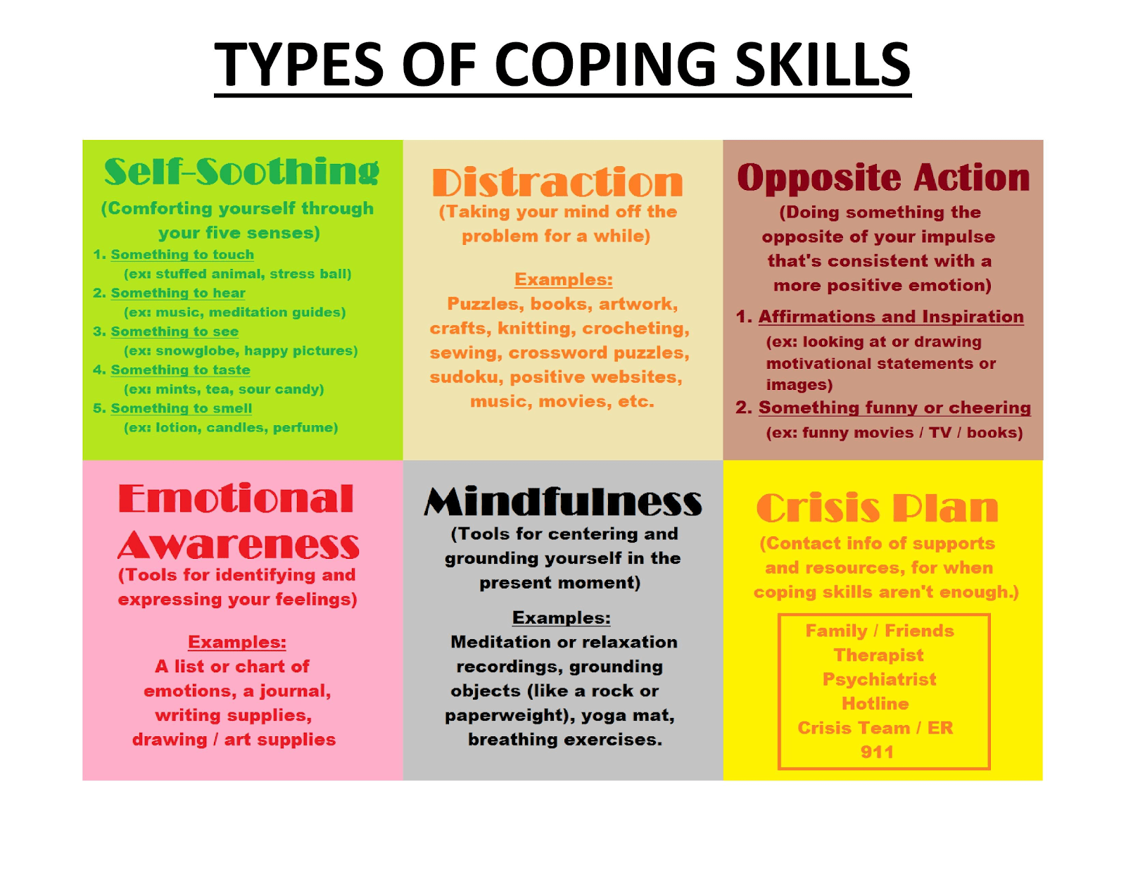 Coping Skills In Recovery