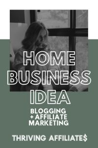 Want your own home-based business? Check out this (huge!) free tutorial and Learn How to Start a Blog That Makes Passive Income With Affiliate Marketing (and more) on ThrivingAffiliates.com #thrivingaffiliates #howtostartablog #afilliatemarketingideas