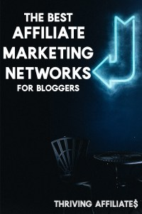 The Best Affiliate Marketing Networks for Bloggers: If you're looking to make money with your blog, you must check out this list (I had no idea about niche networks!) #affiliatemarketing #thrivingaffiliates #affiliatemarketuingideas
