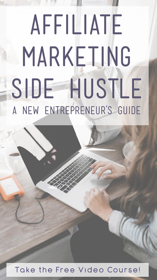Take this Affiliate Marketing Side Hustle Class for free for a limited time! #affiliatemarketing