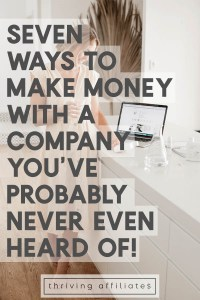 Seven (more) ways to make money with your blog