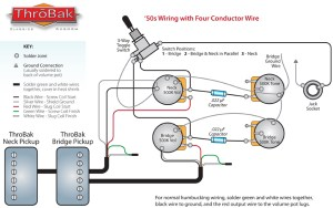 ThroBak 50's 4 conductor wiring  ThroBak