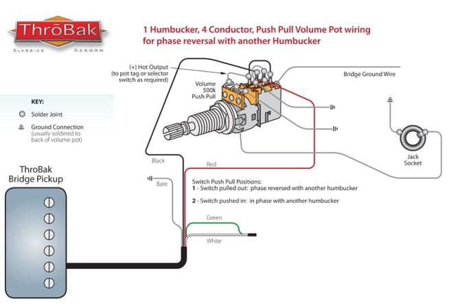 throbak push/pull phase wiring  throbak