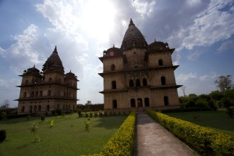 Cenotaphs of Orchha 1