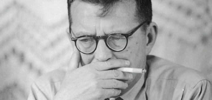 Dimitri Shostakovich throwcase volkov
